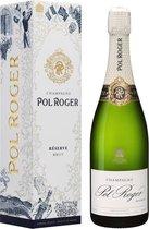 Champagne Pol Roger Brut Réserve - 1 x 75 cl - Giftbox