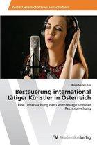 Besteuerung International Tatiger Kunstler in Osterreich