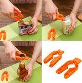 3-in-1 opener | multi opener | voor potten, deksels en flessen | dop opener pak |opener grip flessenopener |multifunctionele Flesopener
