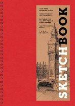 Sketchbook (Basic Medium Spiral Red)
