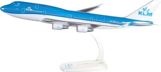 Afbeelding van Herpa Boeing vliegtuig snap-fit KLM- B747-400 speelgoed