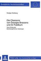 Die Chansons Von Georges Brassens Und Ihr Publikum