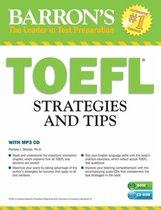 Boek cover TOEFL Strategies and Tips with MP3 CDs van Pamela J. Sharpe