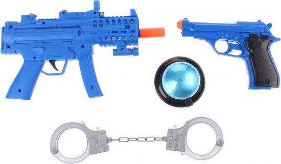 Toi toys Politie Speelset Met Licht En Geluid 4 delig Blauw