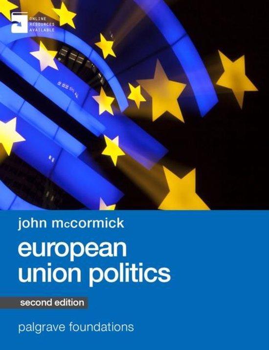 Boek cover European Union Politics van Michelle Cini (Paperback)