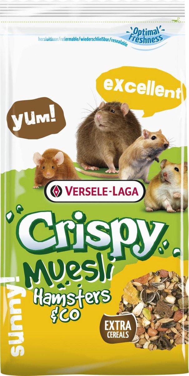 Versele Laga Crispy Hamster Hamstervoer Inhoud - 400 gram - Versele-Laga