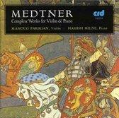 Medtner Works For Violin & Piano