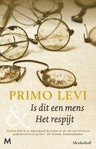 Boek cover Is dit een mens & Het respijt van Primo Levi (Onbekend)