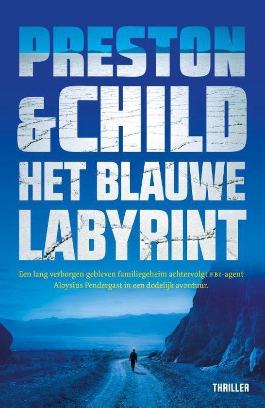 Pendergast thriller 14 - Het blauwe labyrint - Preston & Child  