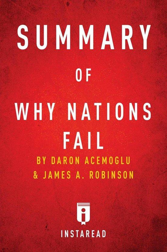 Boek cover Summary of Why Nations Fail van Instaread Summaries (Onbekend)