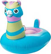 Enjoy Summer Opblaasbare Alpaca Float 120 Cm Blauw