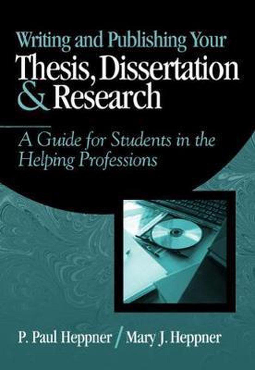 dissertation publishing