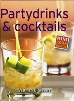 Boek cover Mini kookboekjes  -   Partydrinks & cocktails van Naumann & Göbel