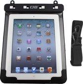 Overboard Waterproof iPad Case, Zwart, met camera uitsparing, Incl. schouderriem