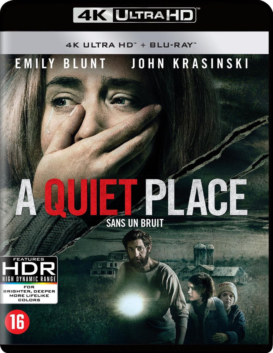 A Quiet Place (4K Ultra HD Blu-ray)-