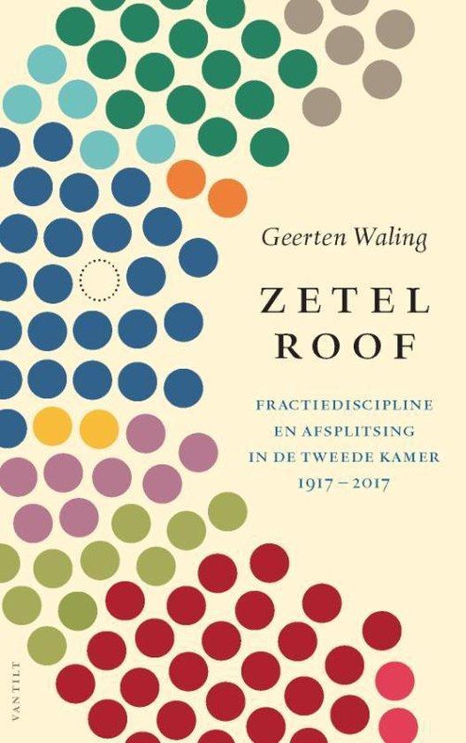 Boek cover Zetelroof van Geerten Waling (Paperback)