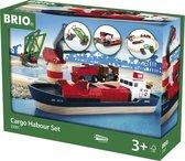 Afbeelding van BRIO Treinset vracht bij de haven - 33061 speelgoed
