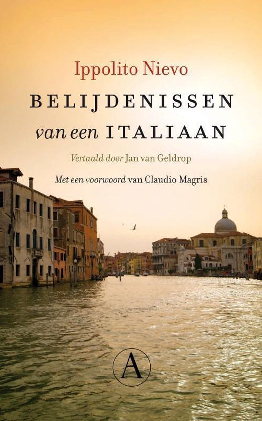 Boek cover Belijdenissen van een Italiaan van Ippolito Nievo (Hardcover)