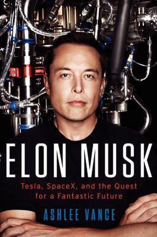 Boek cover Elon Musk van Ashlee Vance (Hardcover)