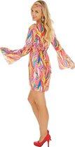 dressforfun 300920 Vrouwenkostuum Discoster voor dames vrouwen XL verkleedkleding kostuum halloween verkleden feestkleding carnavalskleding carnaval feestkledij partykleding