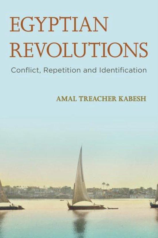 Boek cover Egyptian Revolutions van Amal Treacher Kabesh (Hardcover)