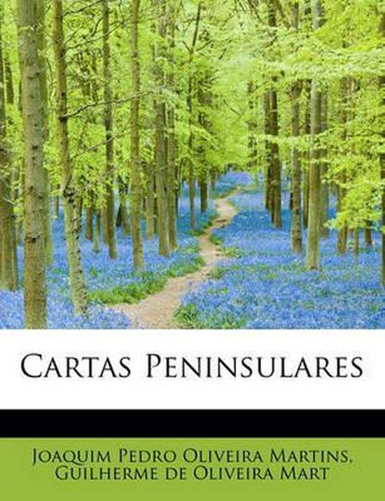 Boek cover Cartas Peninsulares van Guilherme de Oli Pedro Oliveira  (Paperback)