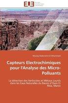Capteurs Electrochimiques Pour l'Analyse Des Micro-Polluants