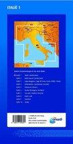 ANWB wegenkaart - Italië 1 Italië/Zwitserland
