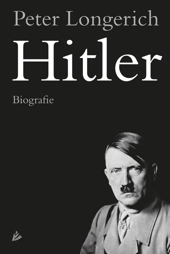 Boek cover Hitler. Biografie van Peter Longerich (Hardcover)