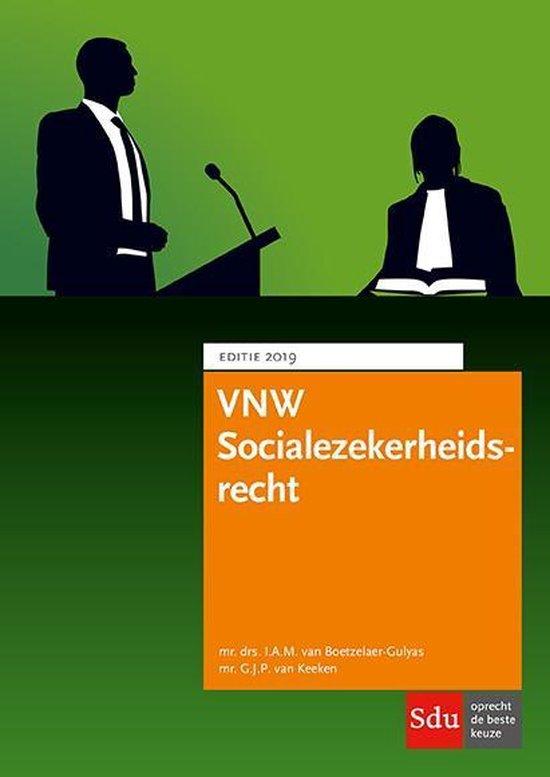 Educatieve wettenverzameling - VNW Socialezekerheidsrecht 2019 - none |