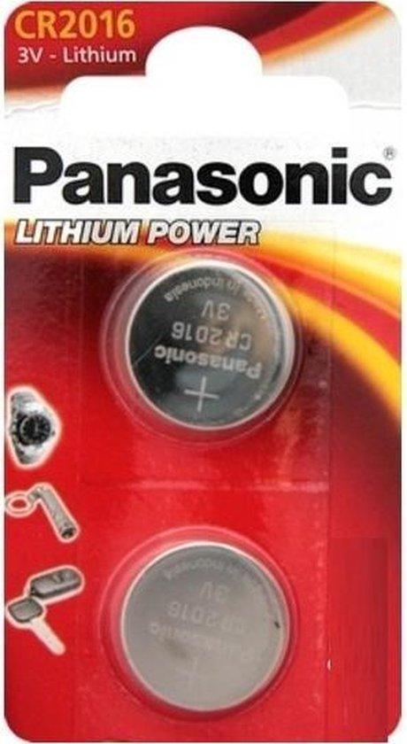 Panasonic CR-2016EL/2B Wegwerpbatterij CR2016 Lithium