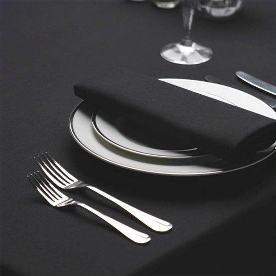 Tafellaken, zwart, 178*178cm, Treb SP - Color Collection - Treb Horecalinnen