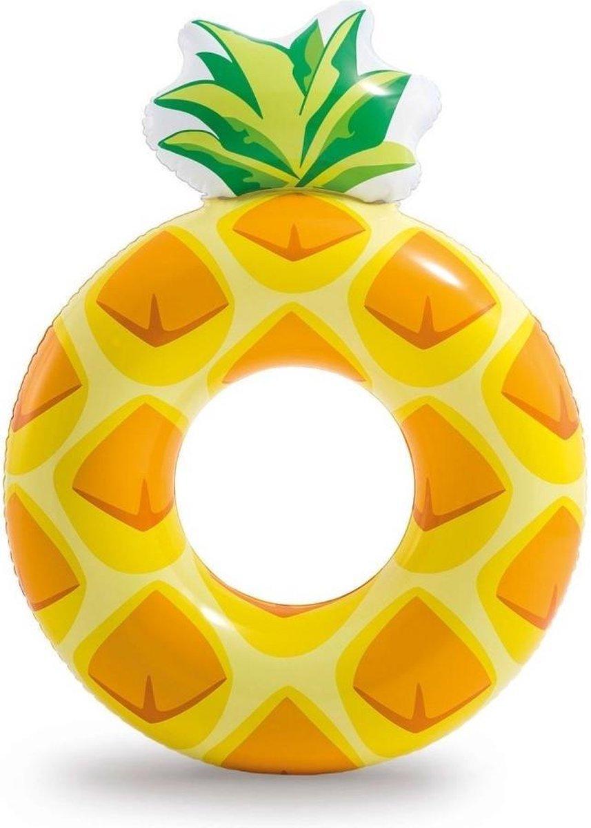Intex Opblaasbare Ananas Ring - 117x86 Cm