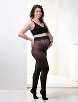 Mamsy Comfortabele Sheer Zwangerschapspanty 20den (Zwart   M)