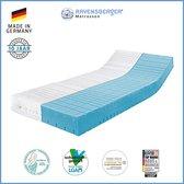Ravensberger® Struktura-MED 60 matras - 160x200 - HR60 koudschuim - H3 (70-120kg) - Silverline® tijk