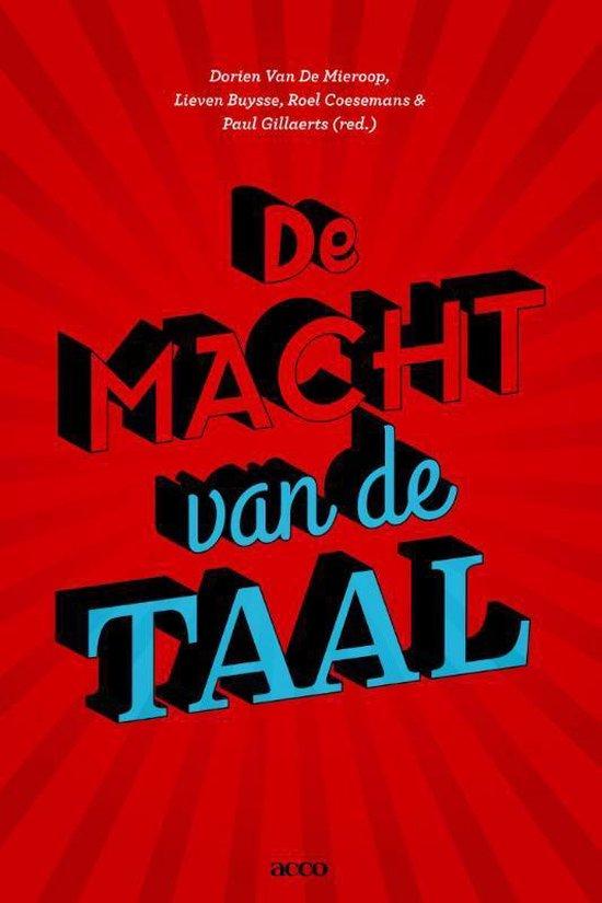 De macht van de taal - Van De Dorien |