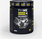 TIME 4 NUTRITION PRE- WORKOUT - 600g - BLACK JACK
