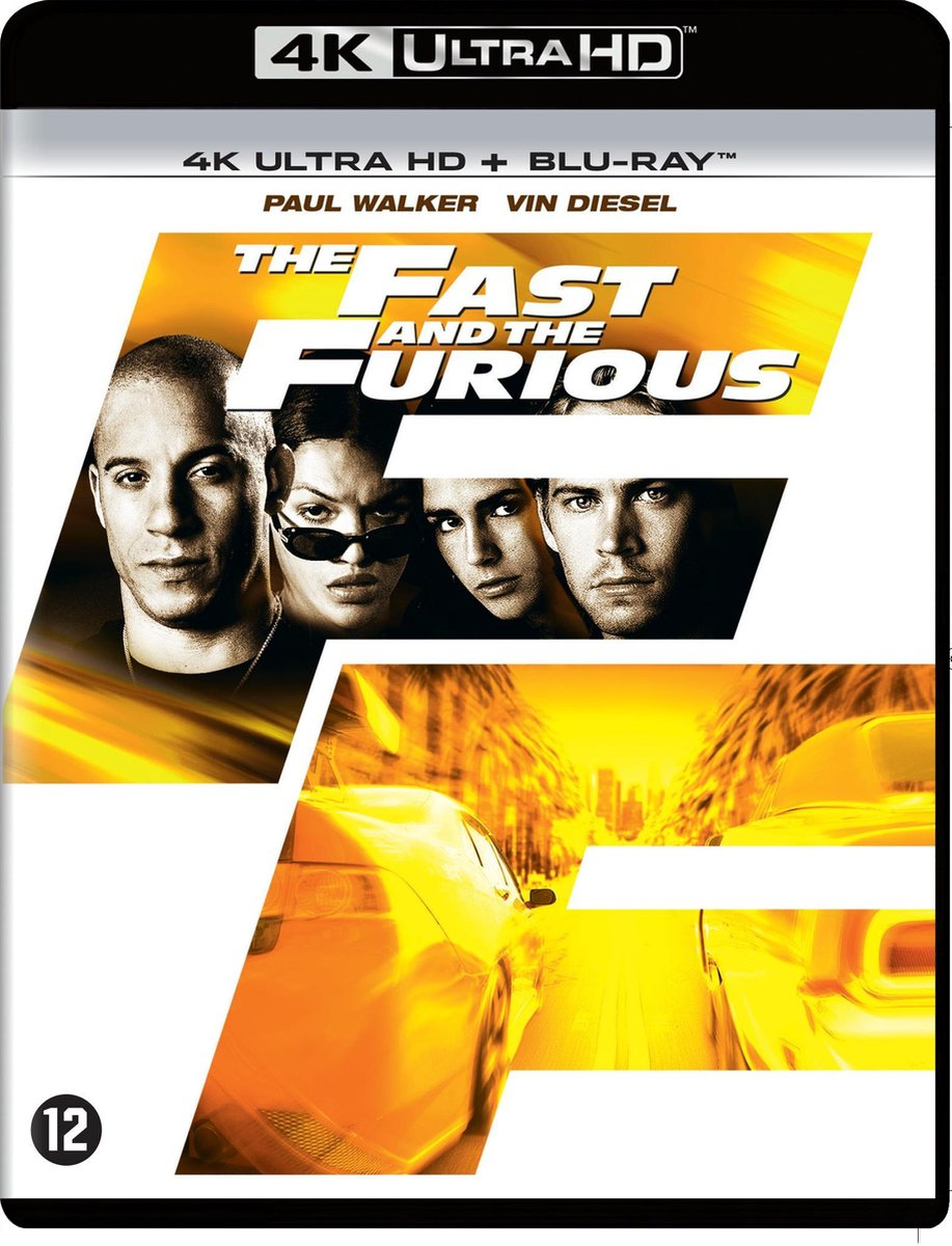The Fast And The Furious (4K Ultra Hd Blu-ray)-