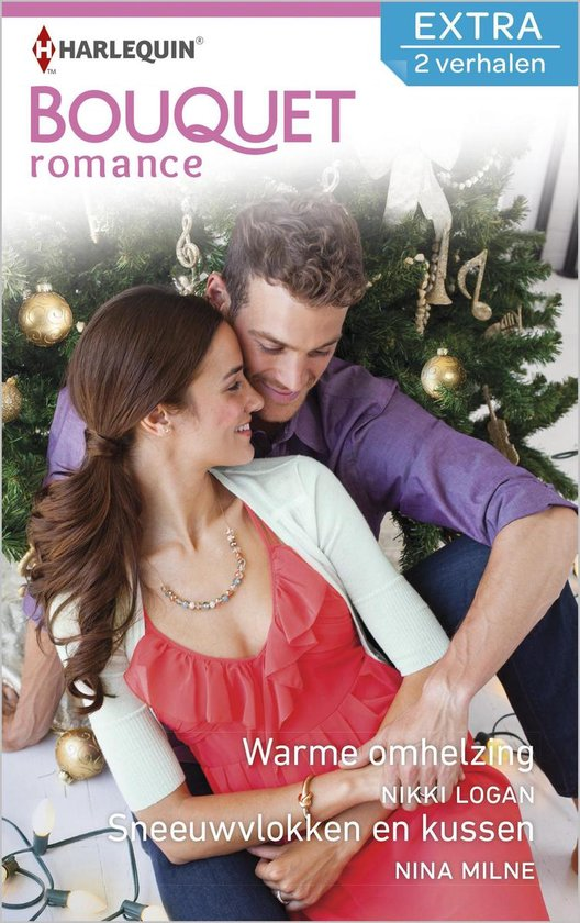 Bouquet Extra 445 - Warme omhelzing ; Sneeuwvlokken en kussen (2-in-1) - Nikki Logan  