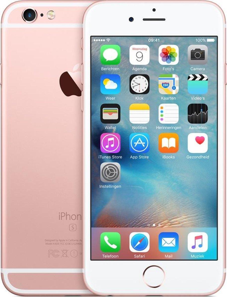 Refurbished Apple iPhone 6S 128GB rose goud 5 stars