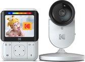 """Kodak C220 Wifi babyfoon met camera en 2.8"""" kleurenscherm - Wifi babyfoon voor thuis én onderweg"""