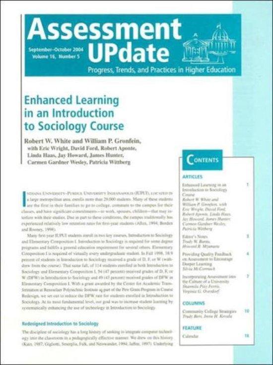 Assessment Update Volume 16, Number 5 2004