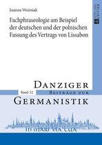 Fachphraseologie am Beispiel der deutschen und der polnischen Fassung des Vertrags von Lissabon