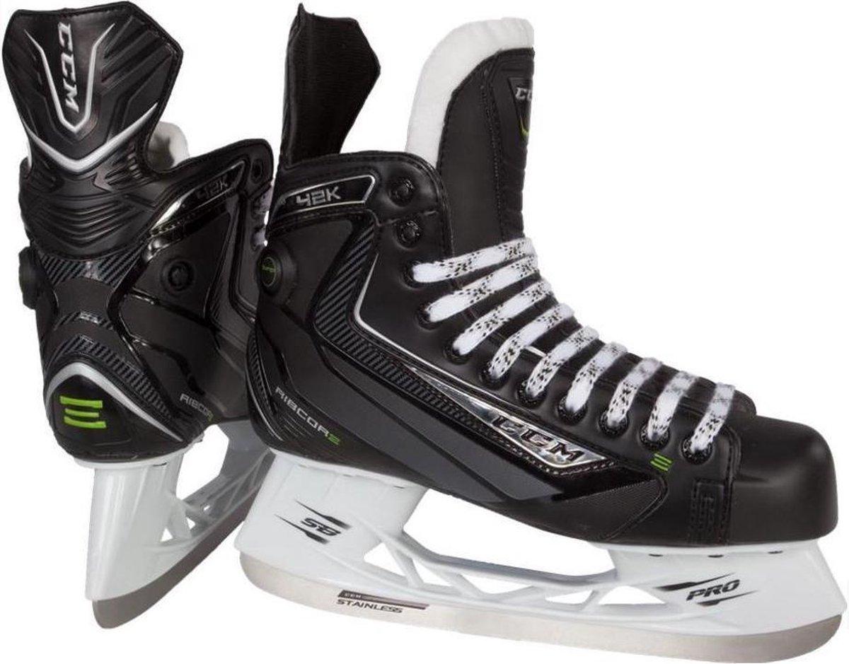 Ccm Ijshockeyschaatsen Ribcor 42k Unisex Zwart Maat 39