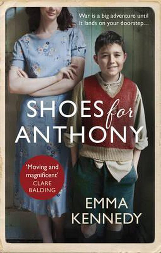 Boek cover Shoes for Anthony van Emma Kennedy (Paperback)