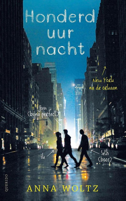 Boek cover Honderd uur nacht van Anna Woltz (Onbekend)
