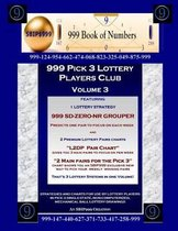 999 Pick 3 Lottery Players Club Volume 3