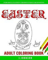 Easter Adult Coloring Book