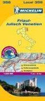 Michelin Lokalkarte Friaul - Julisch Venetien 1 : 200 000