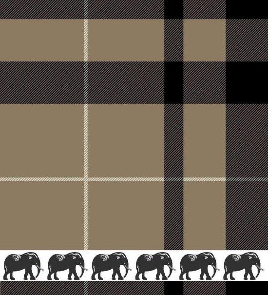 DDDDD Savanne Keukendoek (3 Stuks) - 50x55 cm - Camel